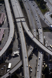 California  San Francisco  Aerial of the Alemany Maze Interchange