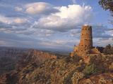Desert View Watch Tower on the East Rim of Grand Canyon NP  Arizona