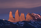 Torres del Paine Mountain Peaks  Patagonia  Magellanic Region  Chile