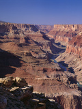Colorado River Flowing Thru Marble Canyon  Grand Canyon NP  Arizona