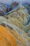 Golden Canyon in Death Valley National Park  California  USA
