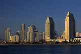 USA  California  San Diego Downtown San Diego City Skyline
