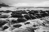 USA  Hawaii  Kauai Rocky Beach