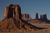 View from Artist's Point  Buttes  Monument Valley  Arizona  USA