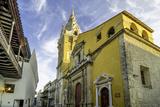 Cathedral Santa Catalina de La Alejandria  Cartagena  Colombia