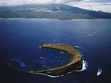 Hawaii Islands  Maui  Wailea-Kihei  View of Molokini Island