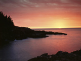 USA  Maine Acadia National Park Sunrise over the Atlantic