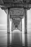 USA  California  La Jolla  Scripps Pier  Sunrise