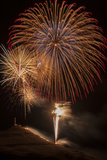 USA  Colorado  Salida July 4th Fireworks Display