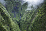 Scenic Views of Kauai's Interior Rain Forests from Above