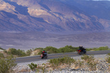 Motorcycles  Death Valley NP  Mojave Desert  California  USA