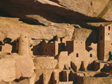 Cliff Palace Ruin in Mesa Verde National Park  Colorado