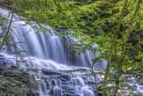 Pennsylvania  Benton  Ricketts Glen State Park Mohawk Falls Cascade