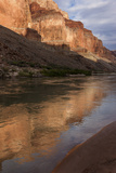 USA  Arizona  Grand Canyon NP Sunset Reflected on Colorado River