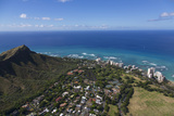 Gold Coast  Diamond Head  Waikiki  Honolulu  Oahu  Hawaii