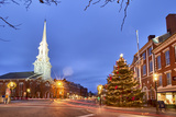 The North Church and Market Square  Portsmouth  New Hampshire