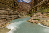 Havasu Creek Mineral Colored Water Grand Canyon Arizona USA