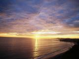 USA  California  Santa Barbara  Sea at Sunset