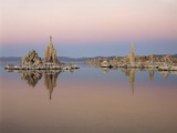 California  Sierra Nevada  Tufa Formations at Mono Lake at Sunrise