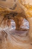 Moqui Cavern  Sandstone Erosion Cave  Near Kanab  Utah