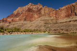 Colorado River Calcium Carbonate Colors Grand Canyon Arizona