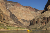 USA  Arizona  Grand Canyon National Park Kayakers on Colorado River