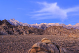Mt Whitney and Lone Pine Peak  Alabama Hills Region  California