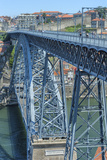 Europe  Portugal  Oporto  Douro River  Dom Luis I Bridge