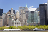 Lower Manhattan  Financial District  New York  USA