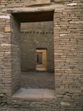 Doorway in Pueblo Bonito  Chaco Canyon National Park  New Mexico