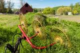 Washington  Dayton Barn and Hay Rake  Walla Walla Wine Country