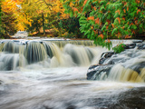 Michigan  Upper Peninsula Bond Falls on the Ontonagon River