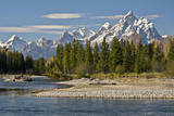 Pacific Creek  Moran Junction  Grand Teton National Park  Wyoming  USA