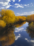 Oregon  Malheur NWR Donner and Blitzen River Landscape