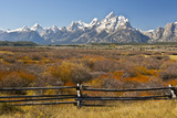 Autumn  Cunningham Cabin Area  Grand Tetons  Grand Teton NP  Wyoming