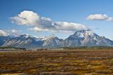 Grand Tetons  Autumn  Jackson Lake  Grand Teton NP  Wyoming