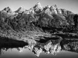 USA  Wyoming  Grand Teton National Park Mountain Sunrise