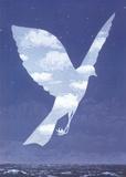 L'entree en scene Reproduction d'art par Rene Magritte