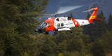 USA  Oregon  Hood River  Us Coast Guard Hh60 Jayhawk