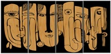 Tribute to Picasso Wood Wall Art