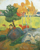 Little Breton with Goose  1889