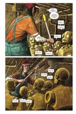 Zombies vs Robots - Comic Page with Panels