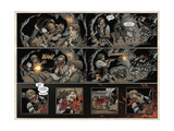 Locke and Key: Volume 5 - Page Spread with Panels