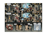 Locke and Key: Omega 4 - Comic Page with Panels