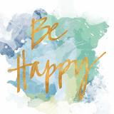 Be Happy II (gold foil)