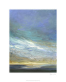 Coastal Clouds Triptych II