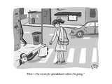 """""""HereI've no use for spreadsheets where I'm going"""" - New Yorker Cartoon"""