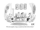 """""""We've been together so long we can finish each other's divorce threats"""" - New Yorker Cartoon"""