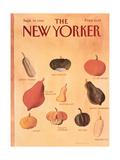 The New Yorker Cover - September 30  1985
