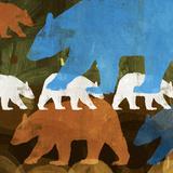 Where the Wild Things Are I Reproduction d'art par Dan Meneely